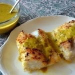 Fish Fillets in Curry Sauce