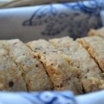 Manchego and Marcona Almond Shortbread Crackers