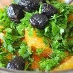 Spicy Orange Moroccan Salad