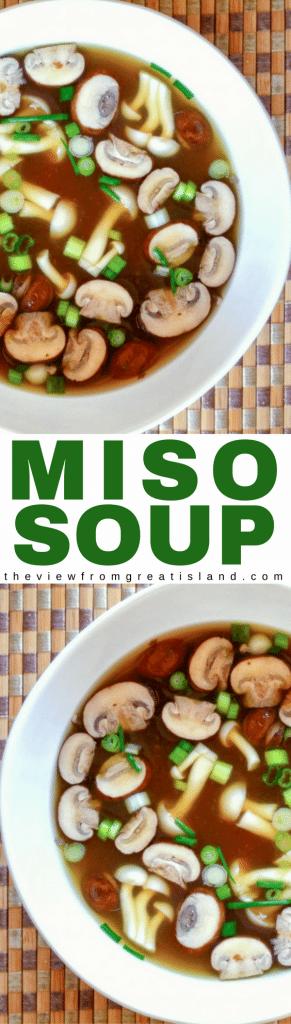 miso soup pin