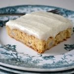 Pear Cake with Vanilla Bean Frosting