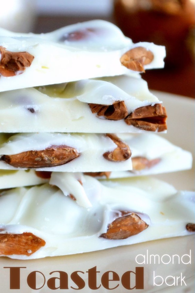 Toasted Almond Bark