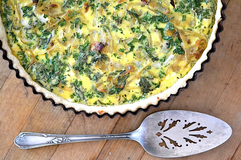 Cheese-and-Herb Quiche