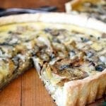 Fennel and Roquefort Tart