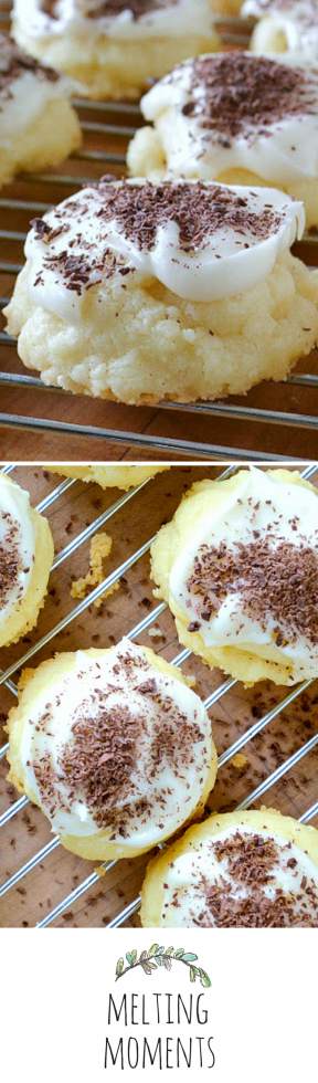 The most delightful melt-in-your-mouth cookie you'll ever make!