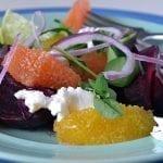 Minimal Monday: Roasted Beet and Orange Salad