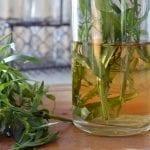 DIY Tarragon Vinegar