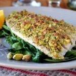 Minimal Monday: Pistachio Crusted Flounder