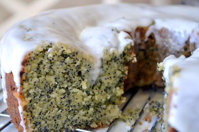 Amaretto Poppy Seed Cake