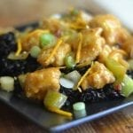 Spicy Tangerine Chicken with Black Rice