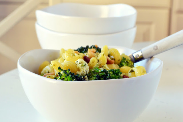 A bowl of Pasta Broccoli