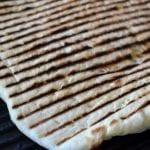 Hummus and Laffa Bread