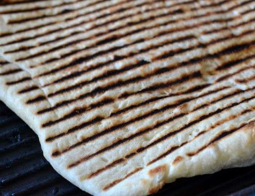 Traditional Middle Eastern Laffa Bread