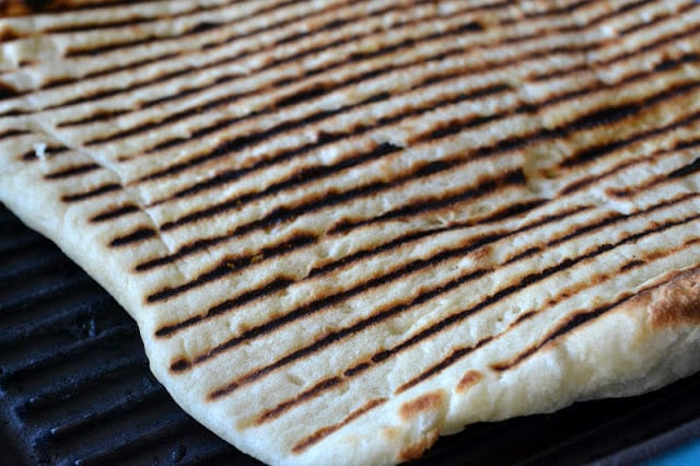 Traditional Middle Eastern Laffa Bread