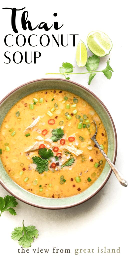 thai coconut soup pin