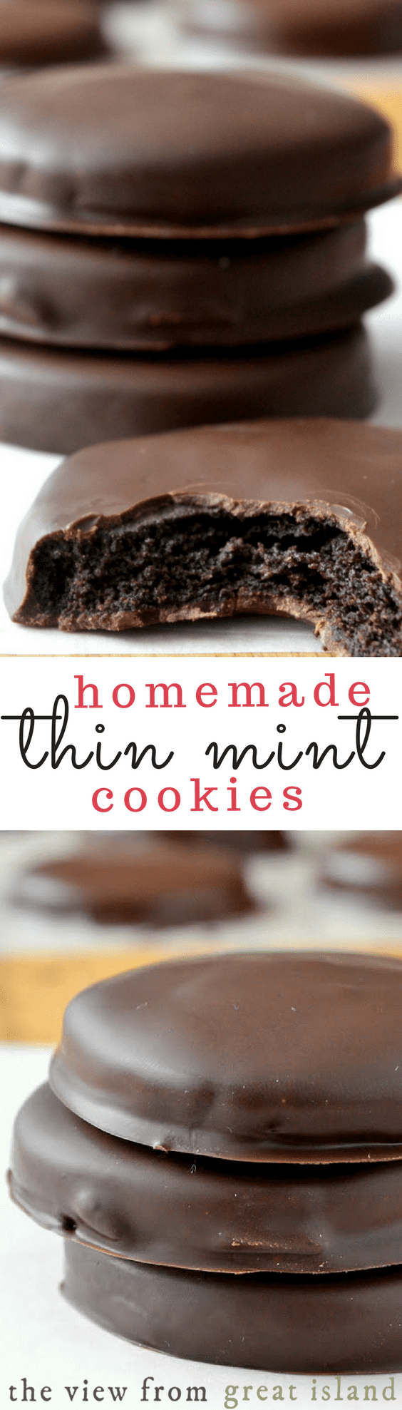 Homemade Thin Mints pin