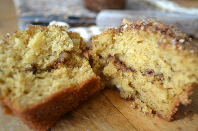 Cardamom Coffee Cake Muffins