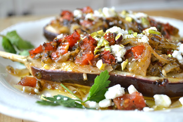 Imam Bayildi, 'The Priest Wept' (Turkish Stuffed Eggplant)