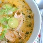 Springtime Salmon and Fennel Chowder