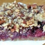 Blackberry Pecan Crumble Squares
