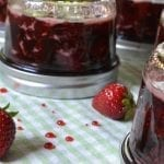 Simple Strawberry Jam, European style