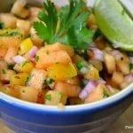 Cantaloupe Habanero Salsa