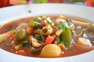 Menestra de Verduras, Spanish Vegetable Soup
