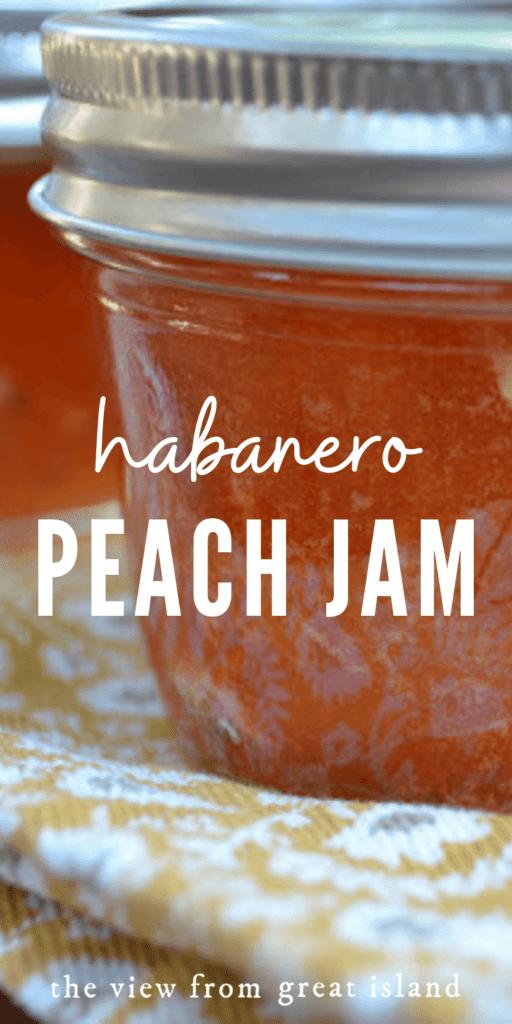 habanero peach jam pin