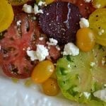 The Art of the Summer Salad: Tomato and Beets