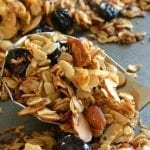 Toasted Coconut Almond Granola with Cherries