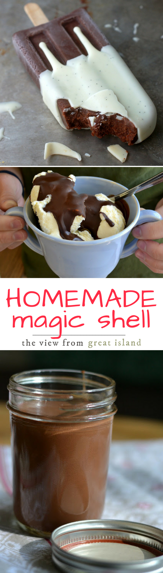 How to Make Homemade Magic Shell | The View from Great Island