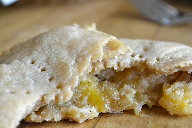 Mini Nectarine Crumble Hand Pie