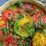 Southern Tomato Pie with Vodka Crust