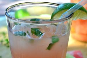 Fresh Grapefruit Mojito