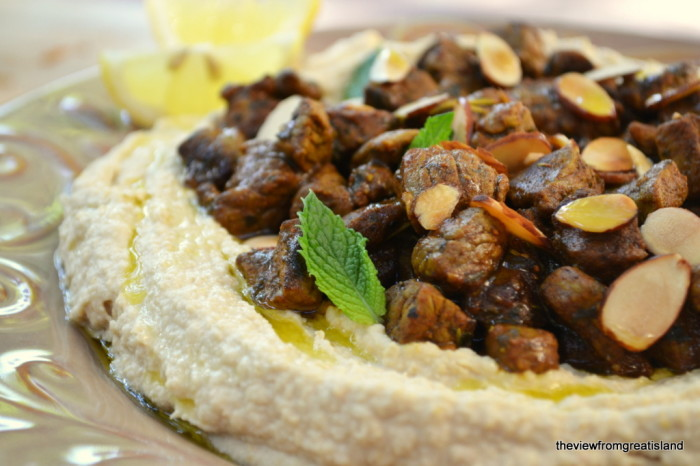 Hummus with Spiced Lamb (Hummus bil Lahme) | The View from