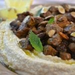 Hummus with Spiced Lamb (Hummus bil Lahme)