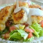 Lemon Chicken with Buttermilk Dressing