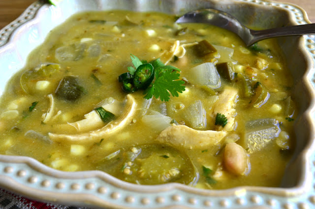 Chile Verde with Chicken