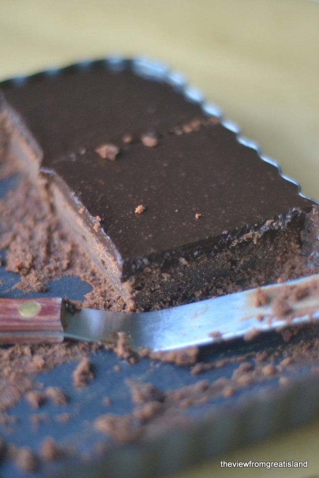 Cold Chocolate Snacking Cake 6