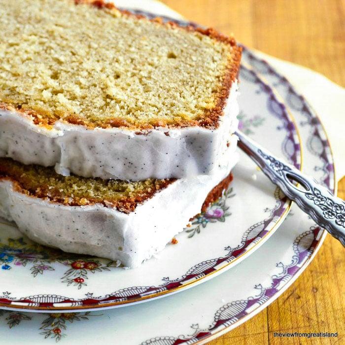 Cardamom Pound Cake With Orange Glaze