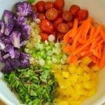 Color Wheel Quinoa Salad