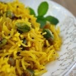 Indian Style Saffron Rice