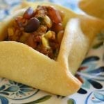 Sfeeha: Middle Eastern Lamb and Pine Nut Pies with Tzatziki