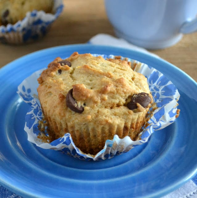 BITTERSWEET CHOCOLATE CHIP MUFFINS image