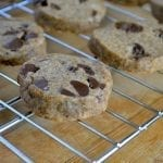 Espresso Chip Shortbread Cookies