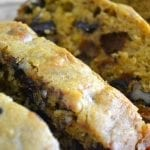 Chocolate Chip Pumpkin Bread redux