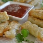 It's 5 O'Clock Somewhere Friday: Mini Shrimp Rolls with Homemade Plum Sauce