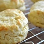 Down Home Sweet Potato Biscuits with Country Gravy