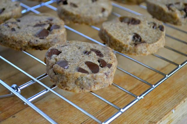 Espresso Chip Shortbread Cookies