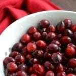 Spiked Cranberry Sauce with Hard Cider and Spiced Rum